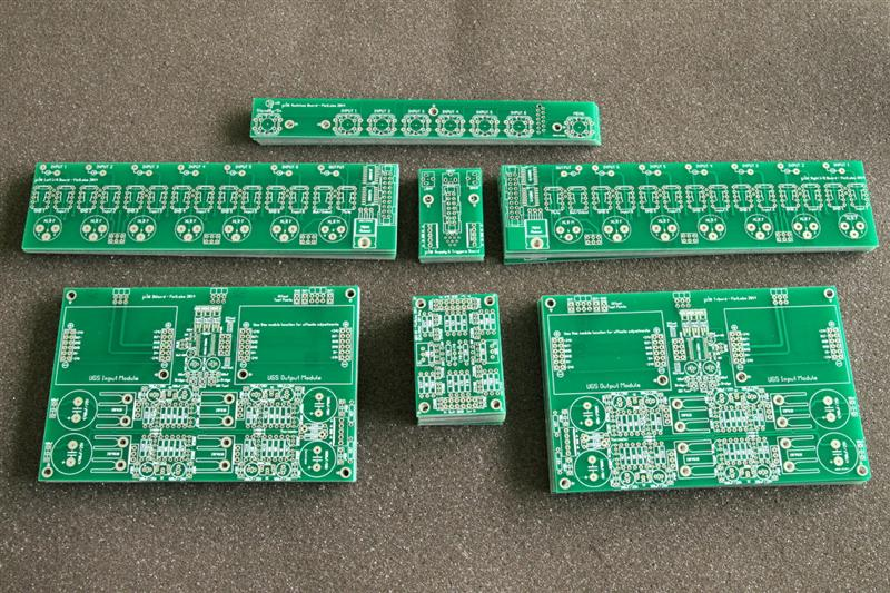 Multiple 2 Layers PCB Boards FR-4 1 6mm Green Mask HASL with