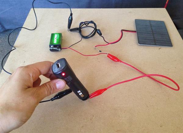Diy Solar USB Charger-HARDWARE