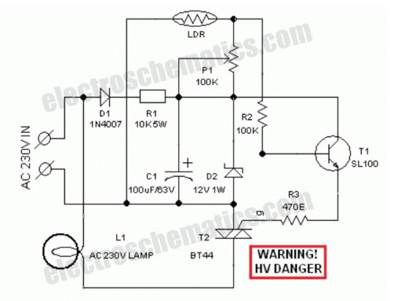 Automatic Lawn Light with LDR-Engineering Technical-PCBway