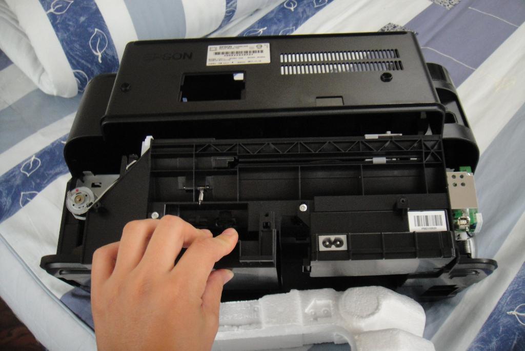 Modifying an Epson printer to print PCBs - Engineering