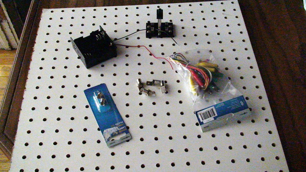 Figure 3 Materials To Make And Test A Simple Led Circuit