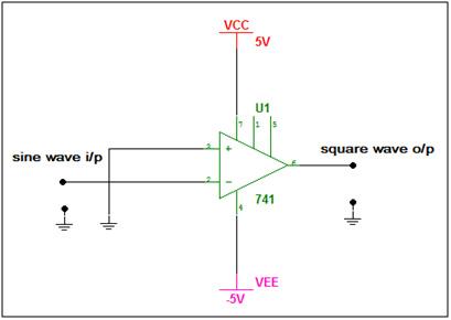 Sinewave Squarewave Convertercircuit Diagram World - Wiring Diagram