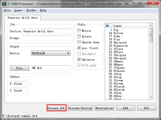 Technical Support - Generate Gerber files in Eagle