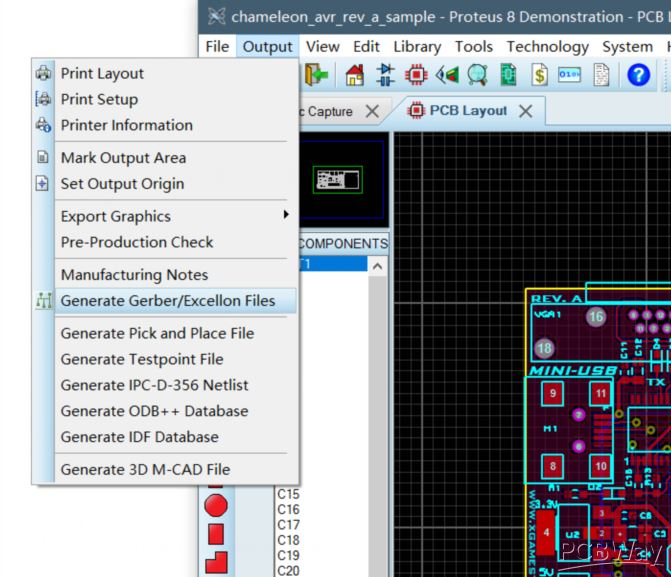 How to generate Gerber files from Proteus - PCB Layout Software -PCBway