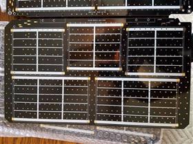 Satellite Solar panel PCBs
