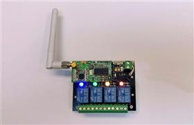 Long Range Relay Receiver board
