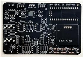 HackerBoxes BioSense ECG/EEG/EMG/Pulse
