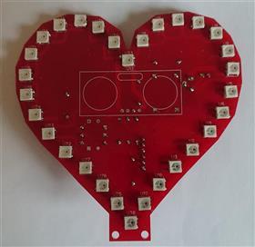 WiFi Controlled RGB Heart