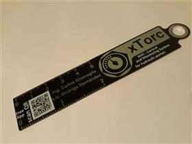 xTorc project / SP-0007v3  rule / keychain for gift and advertising