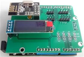 Arduino breakout board (nRF24L01, Servos, etc.)