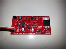 Ignition omboard for Glow engines