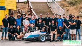 An international student based competition to design, manufacture and test an open wheel formula sty