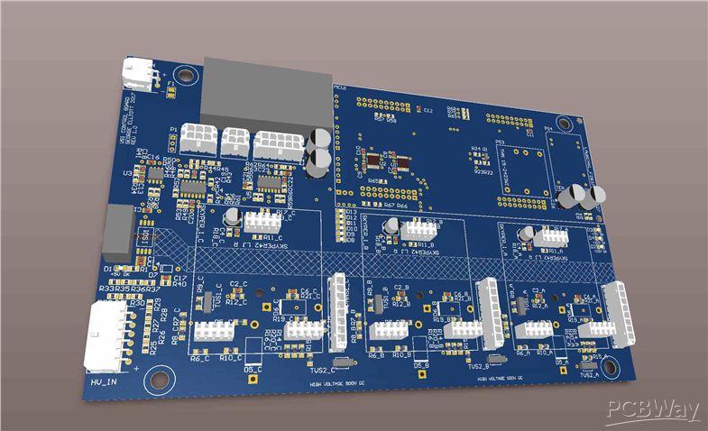 Three Phase SiC based VSI - Sponsor - PCBWay