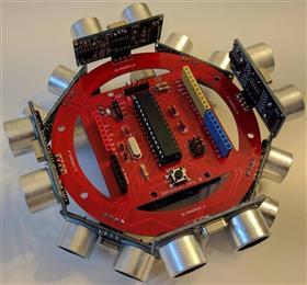 SonicDisc - A 360° ultrasonic scanner