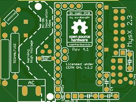 In Wall AC/DC Pcb for MySensors v1