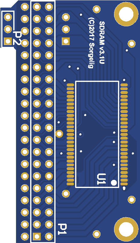 MiSTer SDRAM board v3 1  Universal  - Share Project - PCBWay