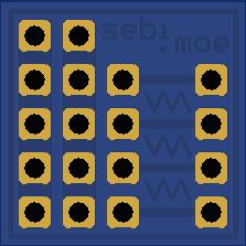 Connect multiple servos - 4 way servo breakout
