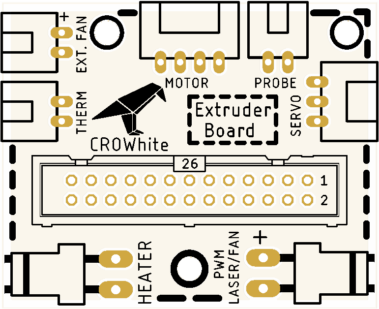 Extruder PCB for 3d printer - Share Project - PCBWay