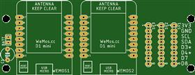 Wemos D1 Battery Sensor