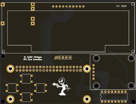RPI Zero W Game console shield