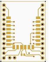 ESP8266  ESP-12 PCB Adapter