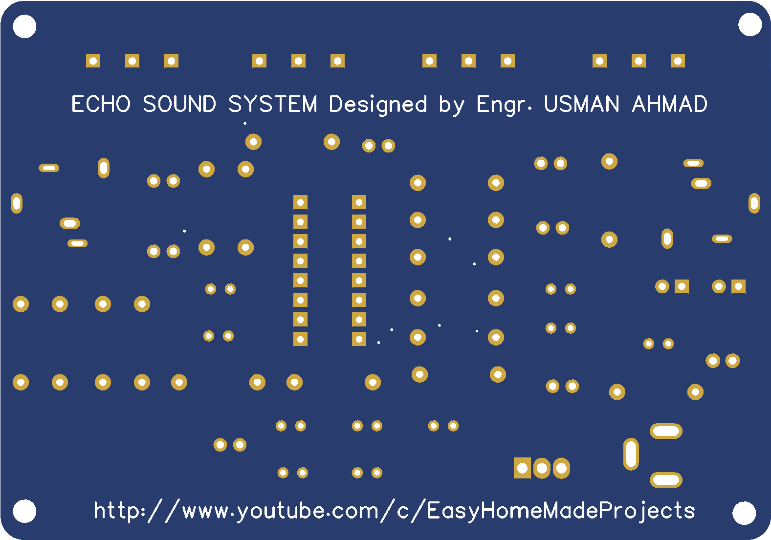 Echo Sound Pcb Share Project Pcbway Circuit Diagram Design