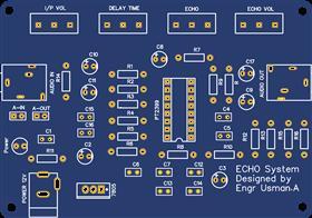 Echo Sound PCB
