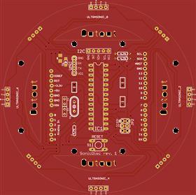 SonicDisc - A 360° ultrasonic scanner (rev.1)