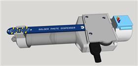 Arduino Motorized Solder Paste Dispenser