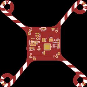 Christmas Themed Quadcopter Design