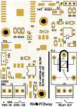 ESP8266 Load Switch 10A/250VAC (WiFi Load Switch)