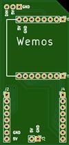 WEMOS D1 Mini Neopixel Breakout.