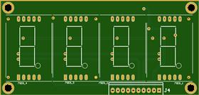 2 Line, Quad, 1 inch, 7 segment Displays