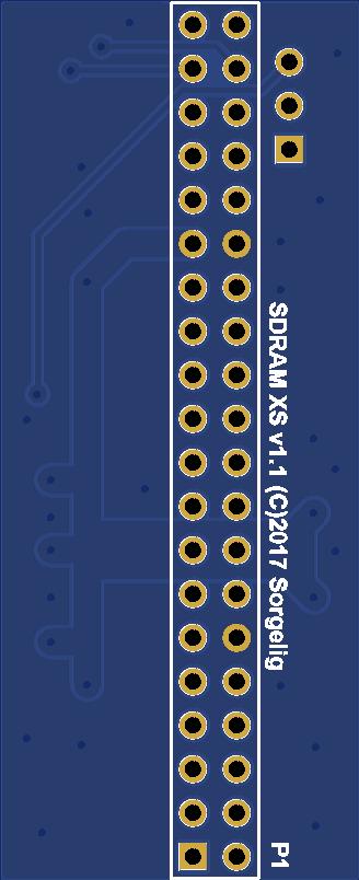 MiSTer SDRAM extra slim board v1 1  - Share Project - PCBWay