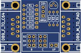 OpenC64MegaDrivePadAdapter V2
