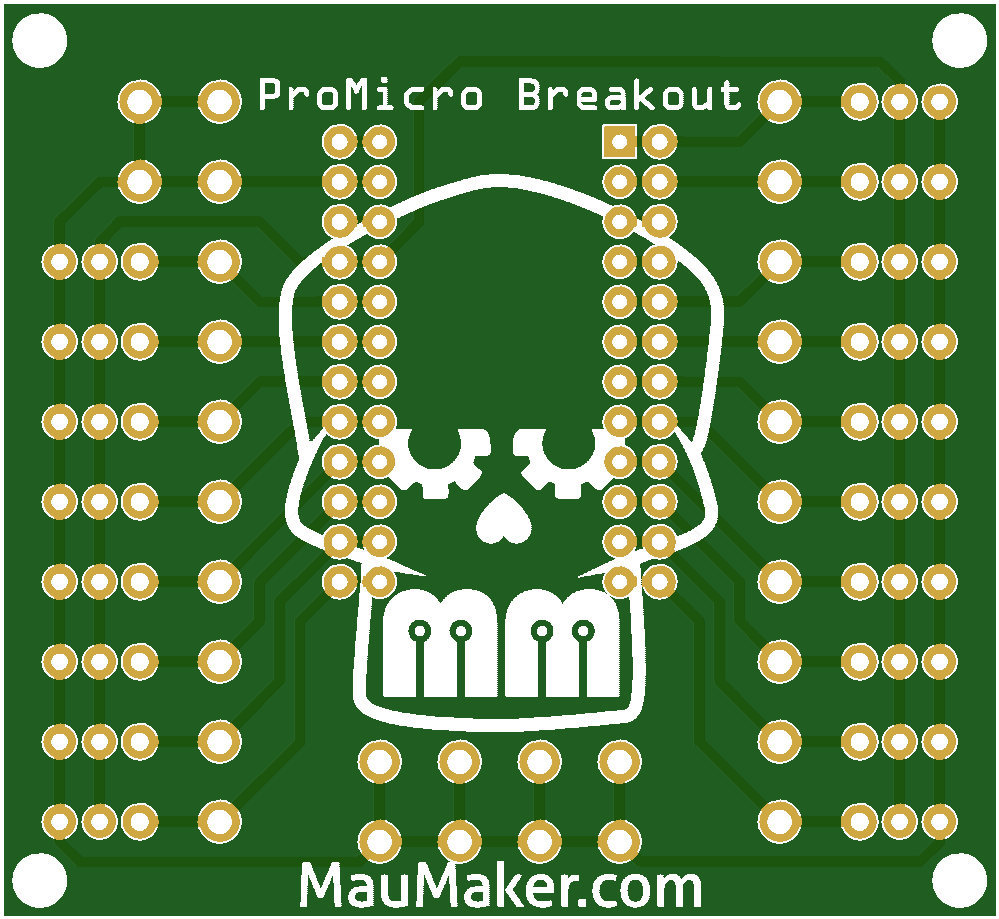 Arduino ProMicro Breakout for servo and Screw Connectors
