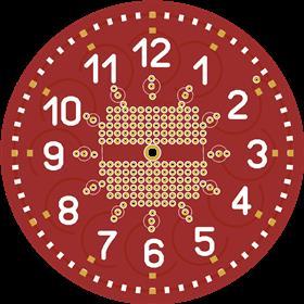 runnin led roundclocx