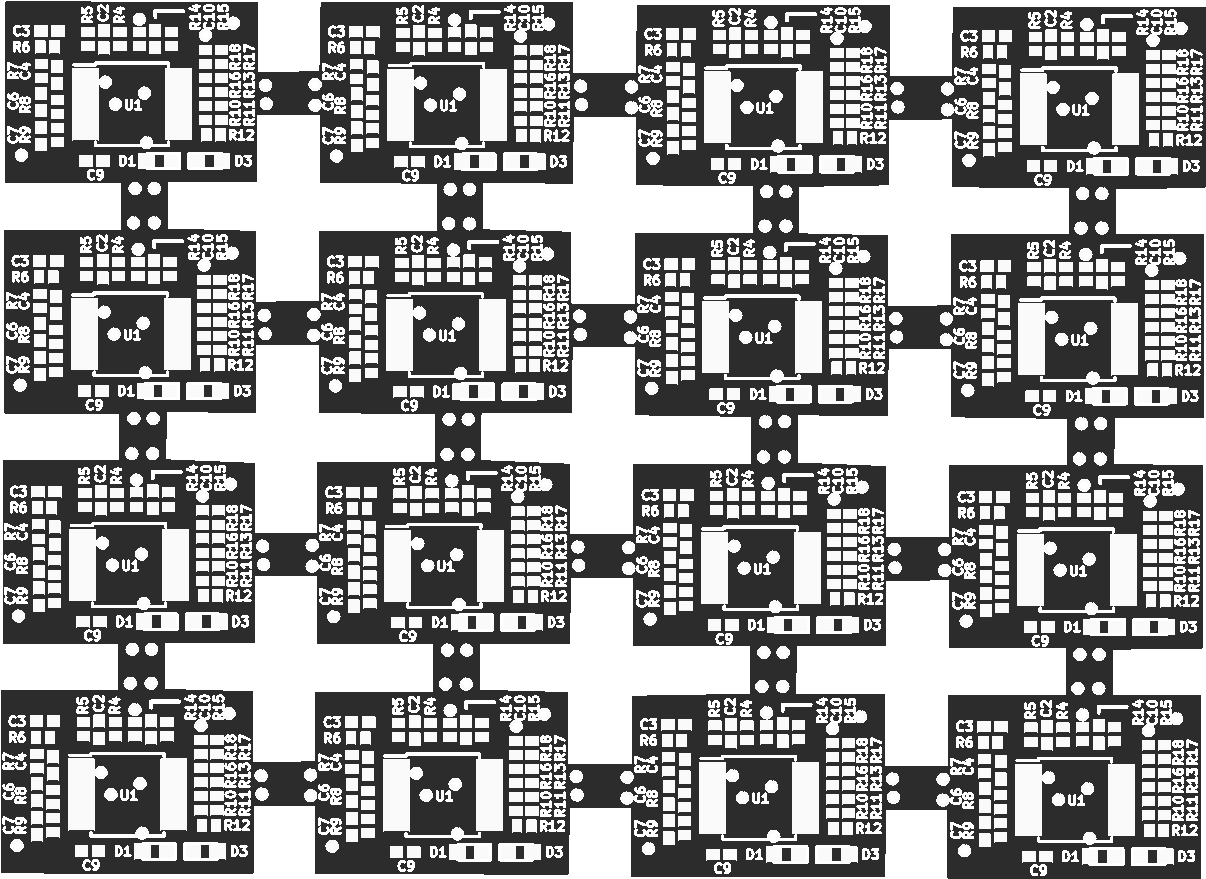Roboy Darkroom: Vive Tracker Photodiodes 4x4 - Share Project - PCBWay