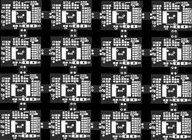 Roboy Darkroom: Vive Tracker Photodiodes 4x4