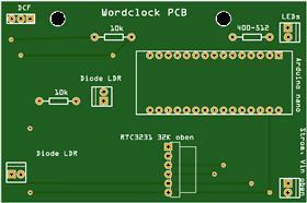 Arnes Wordclock fuer arnes-elektronik.blogspot.de