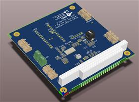 Particle detector board