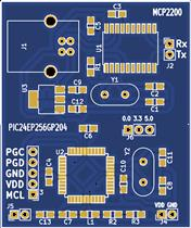 MCP2200 PIC24EP256GP204 Breakout Boards