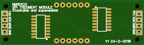 daisy-chain 4digit 7-segment SPI module