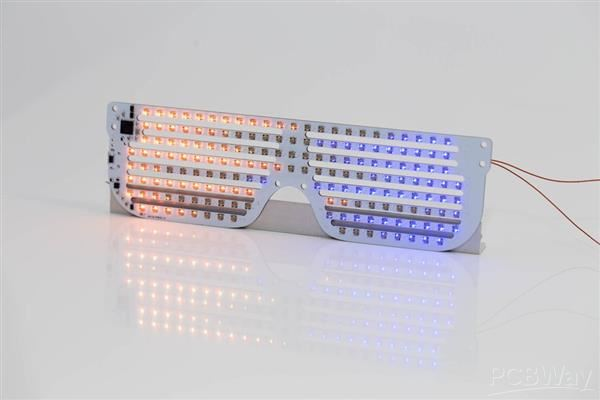 RGB LED Party Glasses.