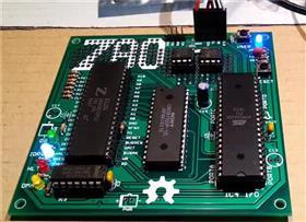 Z80-MBC: A 4 ICs Z80 computer