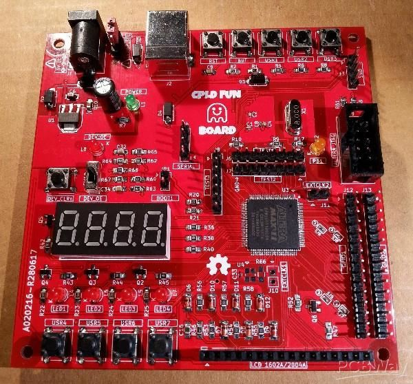 CPLD Fun Board: Arduino STM32F103 and Altera MAX II CPLD - Share