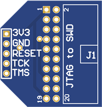JTAG to SWD converter