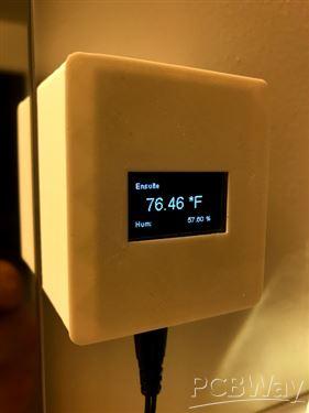 NodeMCU DHT/Sensor/LED Controller Breakout Board-v 1 1