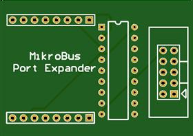 Mikrobus PortExpander MCP23S08
