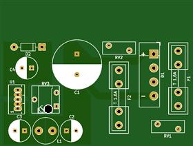 C64-PSU 902503-06 Austauschplatine 0.1